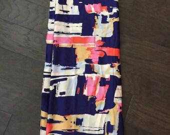 Ankara Silk/African Fabric Silk/BowTieBlouse/SilkFabric/ 2 & a Half Yard/ African Silk