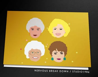 Golden Girls Mothers Day Card - PRINTABLE CARD