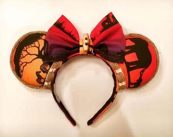 Animal Kingdom Minnie Mouse ears