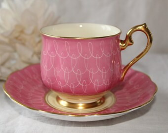 Royal Albert:  Pink tea cup and saucer
