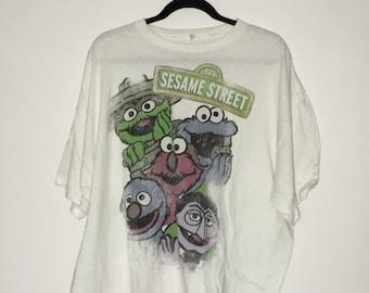 Sesame Street Shirt XXL