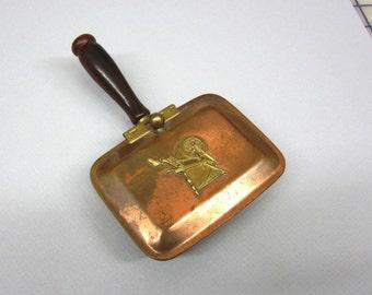 Copper Brass Crumb Catcher Silent Butler