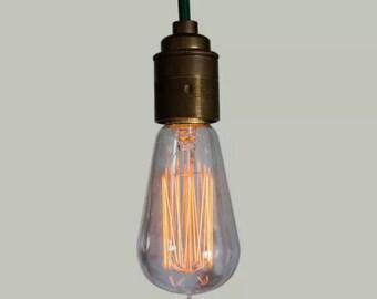 Edison Filament Bulb - Ferrowatt Squirrel Cage