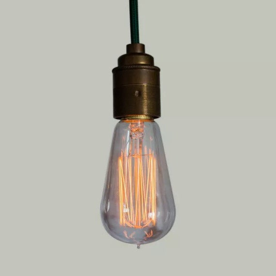 Edison Filament Bulb - Ferrowatt Squirrel Cage