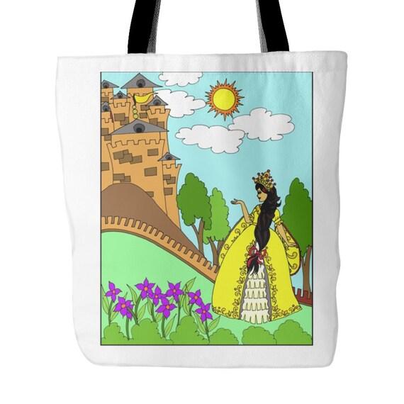 Tote Bag - Latina Princess Castle