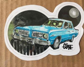 1968 plymouth valiant sticker