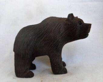Bear, Ironwood sculpture (#iwbr6.5)