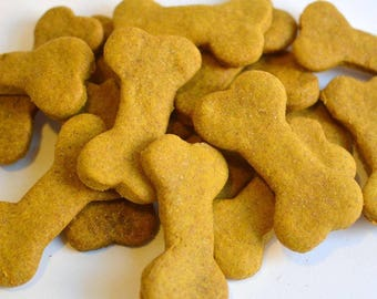 PB & Pumpkin Dog Biscuits