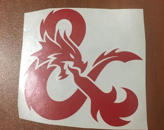 Dungeons and Dragons Decal