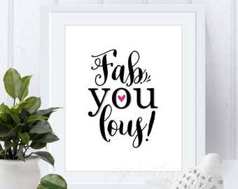 fab-you-lous digital print