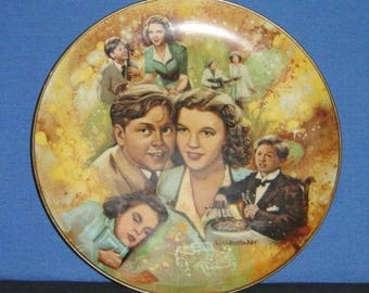 Judy and Mickey ~ MGM's The Golden Age of Cinema Collector Plate -Pre-owned (SS)