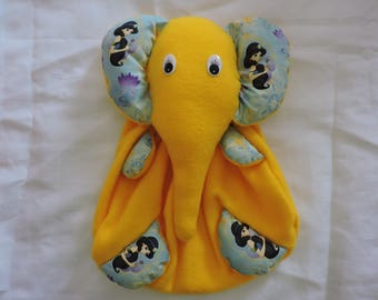 hadmade elephant pyjama bag