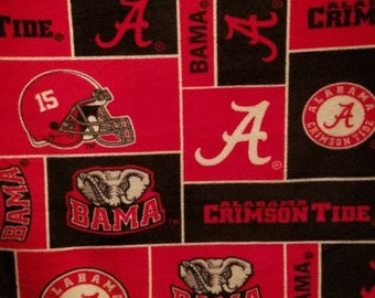 Alabama Crimson Tide Baby Minky Blanket