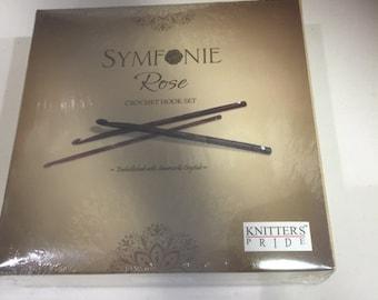 Knitter's Pride Symfonie Rose Crochet Hook  Set