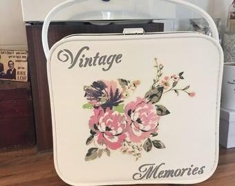 Vintage Memories Suitcase