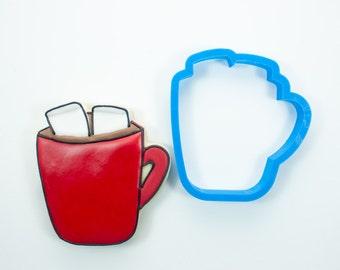 Hot Chocolate Mug Cookie Cutter