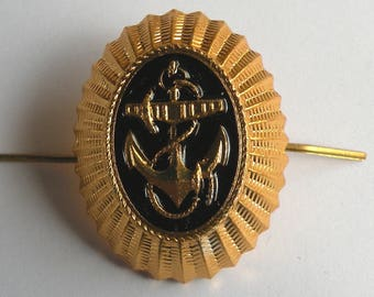 Cockarde for a cap of the officer of  Fleet of the USSR