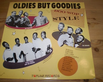 Oldies But Goodies Doo-Wop Style Vinyl LP,Album,Near nint condition,The Marcels,The Skyliners,The Clovers