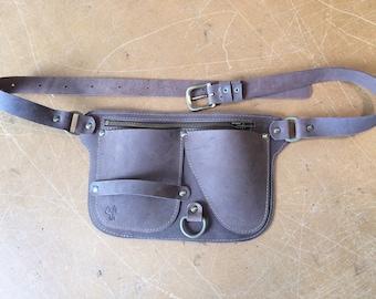Gardener leather belt