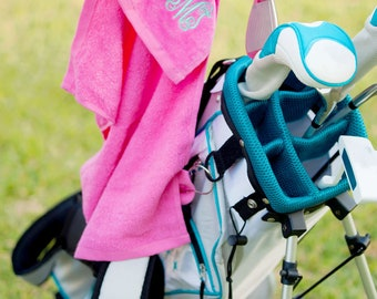 Golf Towels/ Personalized Golf Towel/Monogrammed Golf Towel/Golf Gift