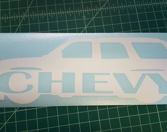 Chevrolet Tahoe decal