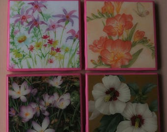 SALE- INTRODUCTORY OFFER; Coasters; Ceramic tile coasters; Drink coasters; bar coasters