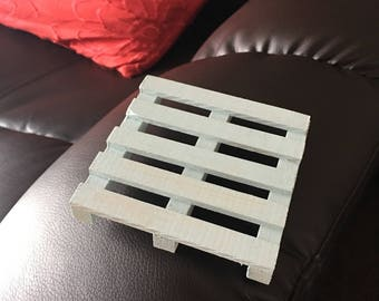 Rustic Coaster Set - Miniature Pallet Wood Coaster Set - Mini Pallet Coaster - Housewarming Coaster - Wooden Coaster - Rustic Tableware