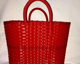 Red Market Bag