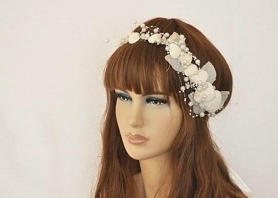 Seashell headpieceseashell headbandseashell hair for Seashells for hair