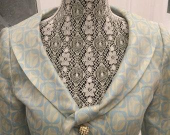 50% VINTAGE BROCADE SUIT/Wedding Party Suit/Costume Suit/Secretary Suit/Wiggle Suit/Formal Occasion Suit/ Mother of the Bride