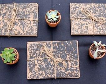 Botanical Print Card Set