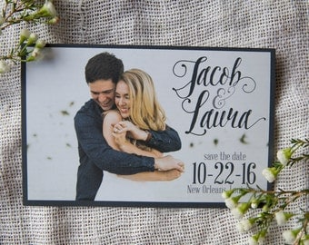 Photo Save the Date - Style 07 - Custom Save the Date Design, Print or Download