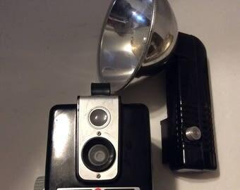Brownie Hawkeye camera, vintage camera, Brownie camera, 1950's camera