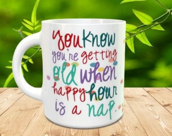 Happy Hour sublmated Coffee Mug