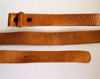 Size 30 76 cm Leather Belt Strap, Ladies Tan Wrinkled Leather, RockinRobin, 1 1/8 inch 3 cm, Southwestern Western Wear Boho, ID 493006234
