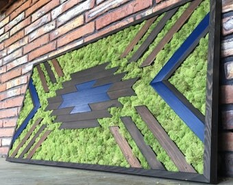 Southwestern Moss Wall Art
