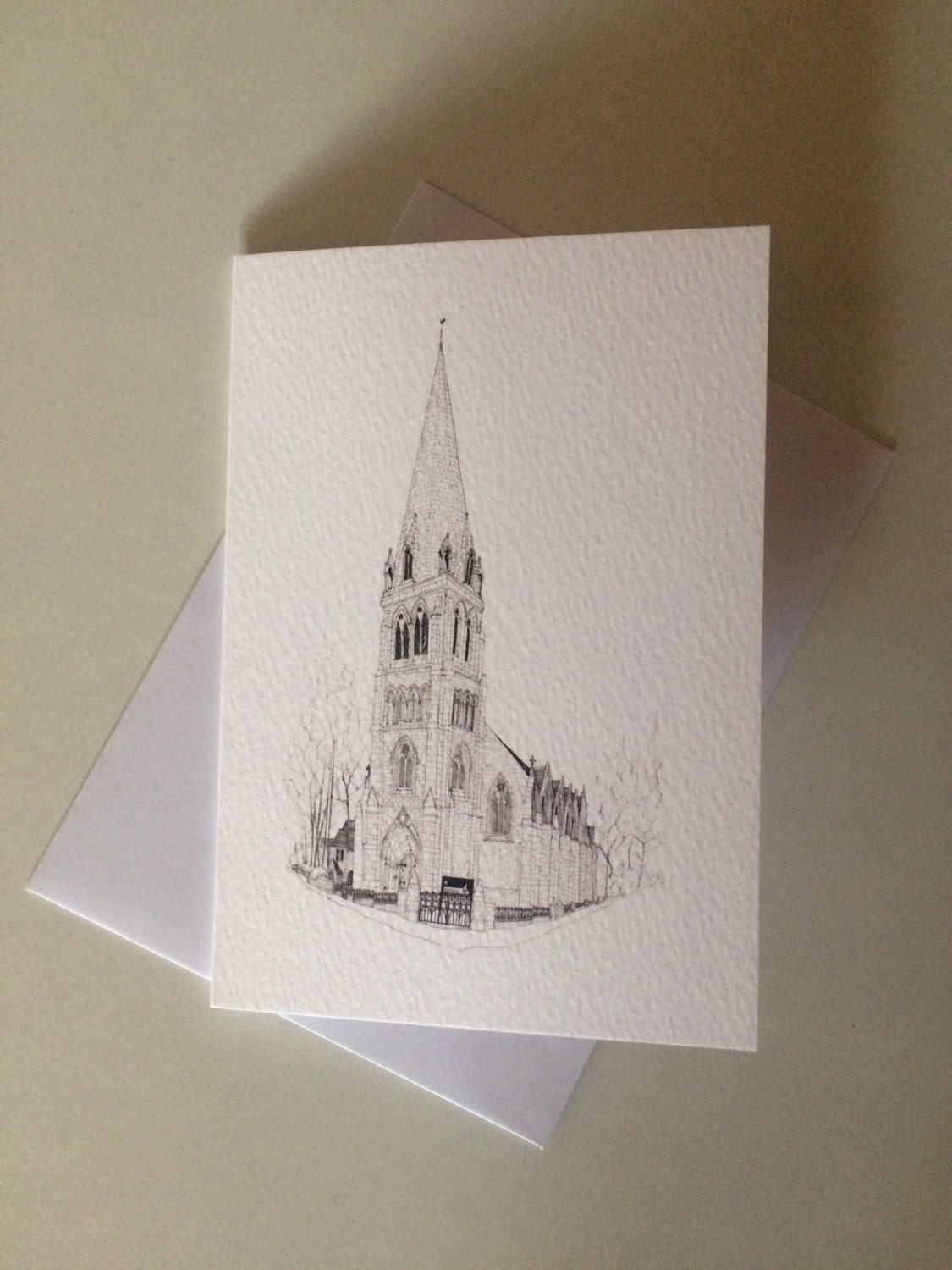 Cottiers glasgow luxury greetings card with envelope a6 kristyandbryce Choice Image