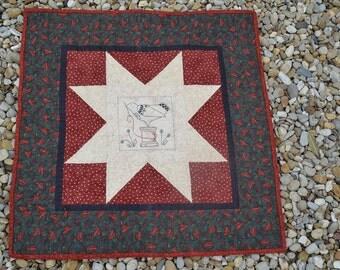 Stitchery mini quilt- Kathy Schmitz