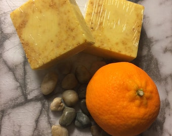 Orange and Turmeric  Soap bars