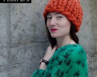 Laine g ant de cardigan pull en grosse laine chunky par panapufa - Grosse laine chunky ...