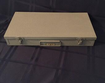 Brumberger Metal Slide Box