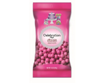 Celebration Sixlets Hot Pink 14 oz