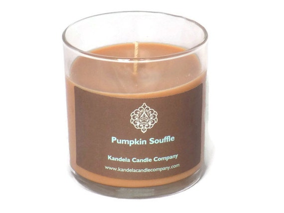 Pumpkin Souffle Scented Candle in 13 oz, Straight Tumbler