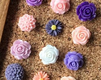 Tack Set, Decorative Push Pins, Thumbtacks, Decorative Thumbtacks, Pushpins, Spring Decor, Spring Decorations, Gifts for Sister, Gift Women