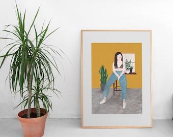 Summer in the city by Chloe Joyce Designs