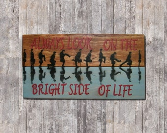 Posters Silly Walks Monty Python, Always look on the bright side of life