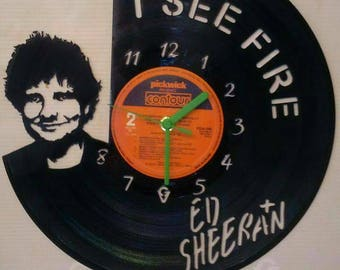 Ed sheeran record clock
