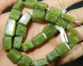 Gemstone 100% Natural Vessonite Faceted Tumble Beads Size 11x12 To 15x16 mm Approx