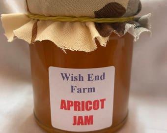 Apricot Jam Homemade Jam 200g (7oz) Jar, Food Gift, Afternoon Tea, Jam Gift, Teacher Gift, Hostess Gift, Christmas Gift