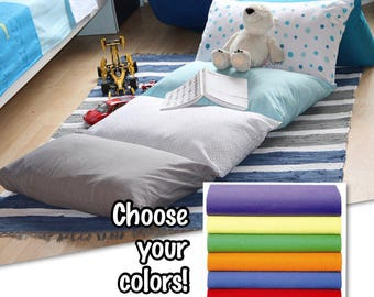 Pillow Beds in Solid Colors - Mix & Match - 3 Sizes; 27 Color Choices